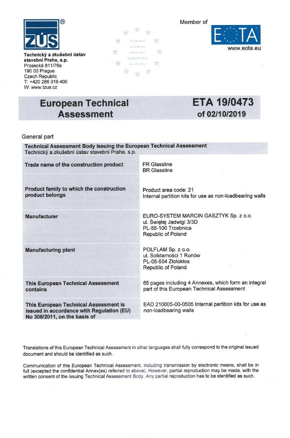 Certyfikat-Euro-System